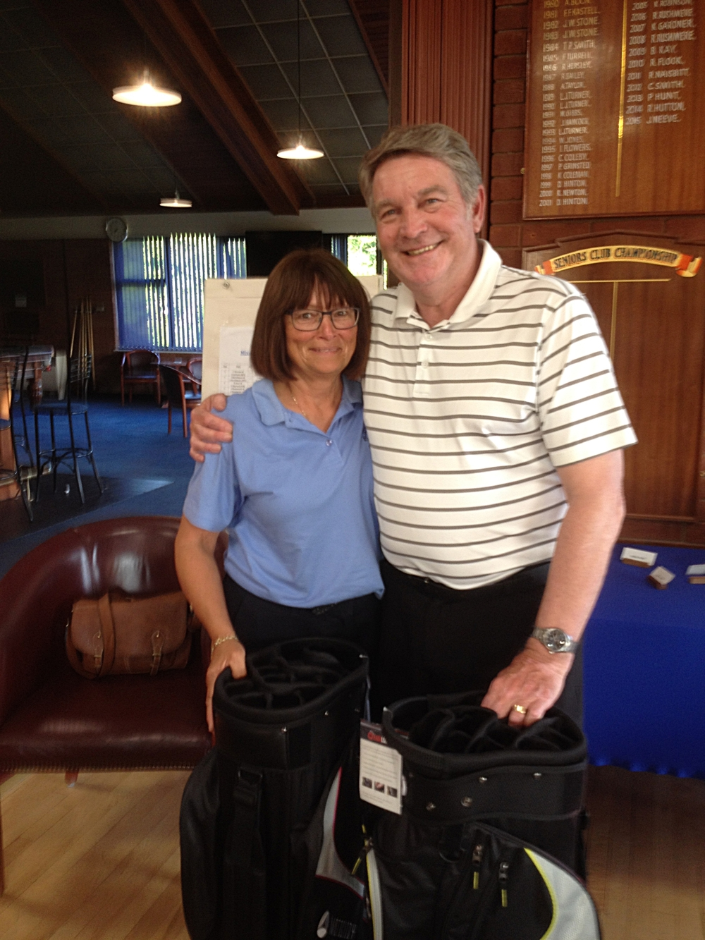 Mixed Open Winners Visitors: Jean & Mike Tilley (Felixstowe Ferry GC)