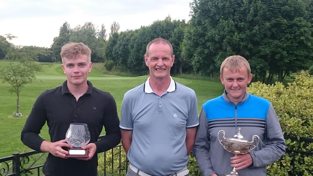 Left to Right: Harry Cook, Martin Scott (Club Captain), & Luke Thompson