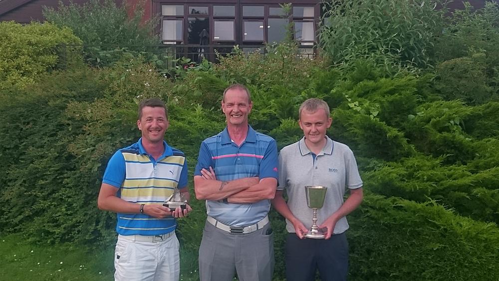 Left to Right: Graham Garrod, Martin Scott (Club Captain), & Luke Thompson