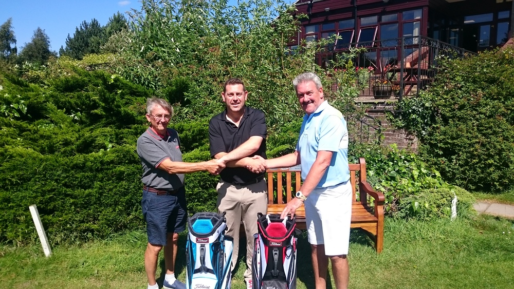 Left to Right: Keith Shales, Gary Kitley (Club Professional), & Gerry Hardiman