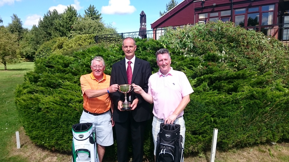 Left to Right: Billy Groves, Martin Scott (Captain), & Dave Logan