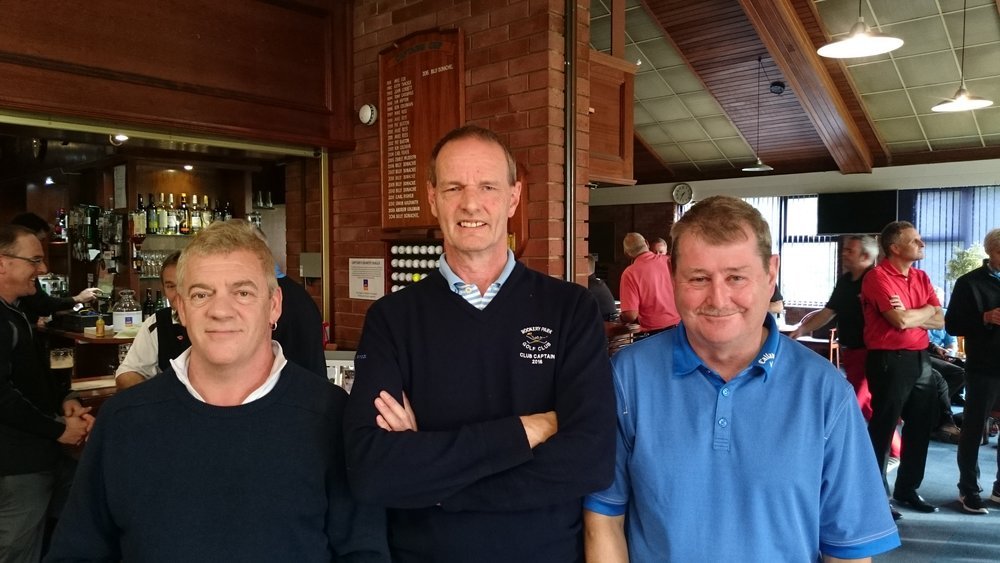Left to Right: Mark Elmy, Martin Scott (Club Captain), & Peter Bunn