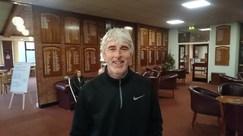 Julian Peak: Winner division 1 January Thursday Stableford