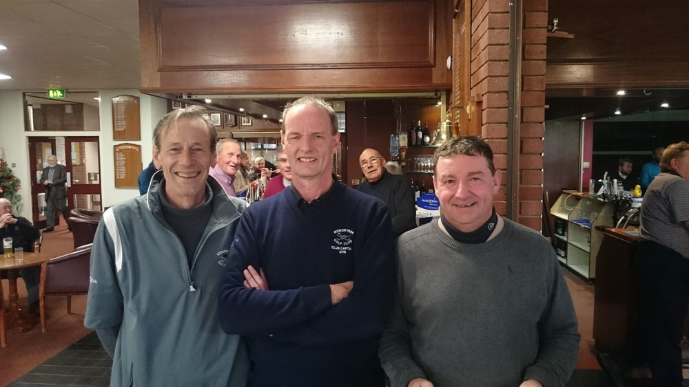 Left to Right: Andy Coleman, Martin Scott (Club Captain), & Dwayne Barber