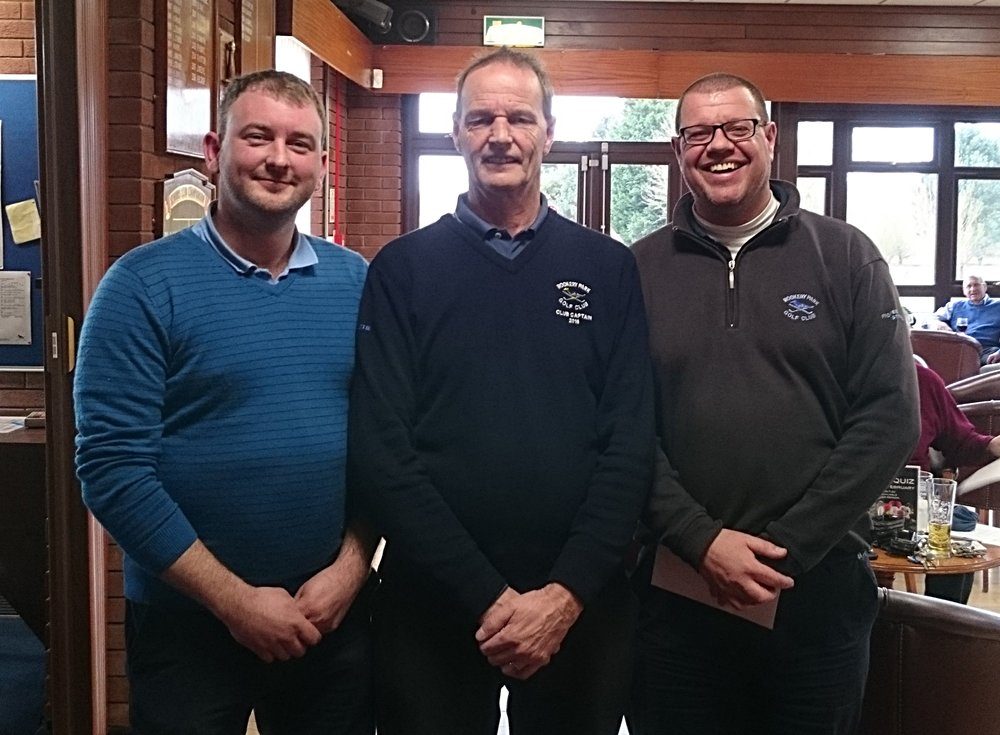 Left to Right: Stuart Punt, Martin Scott (Club Captain), & Robert Pettett