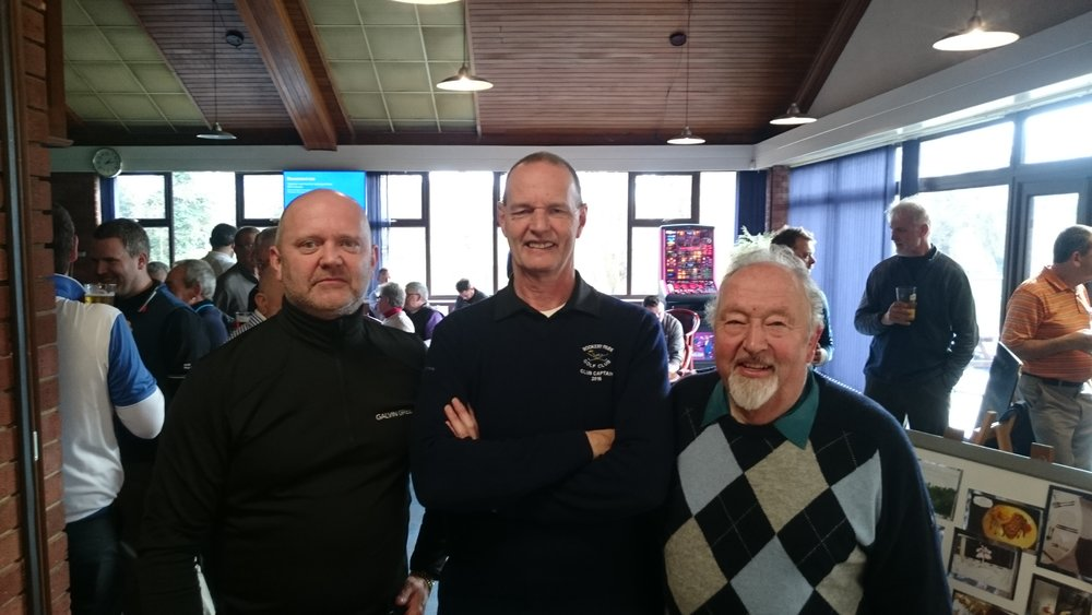 Left to Right: Ian Youngman, Martin Scott (Club Captain), & Keith Bagot