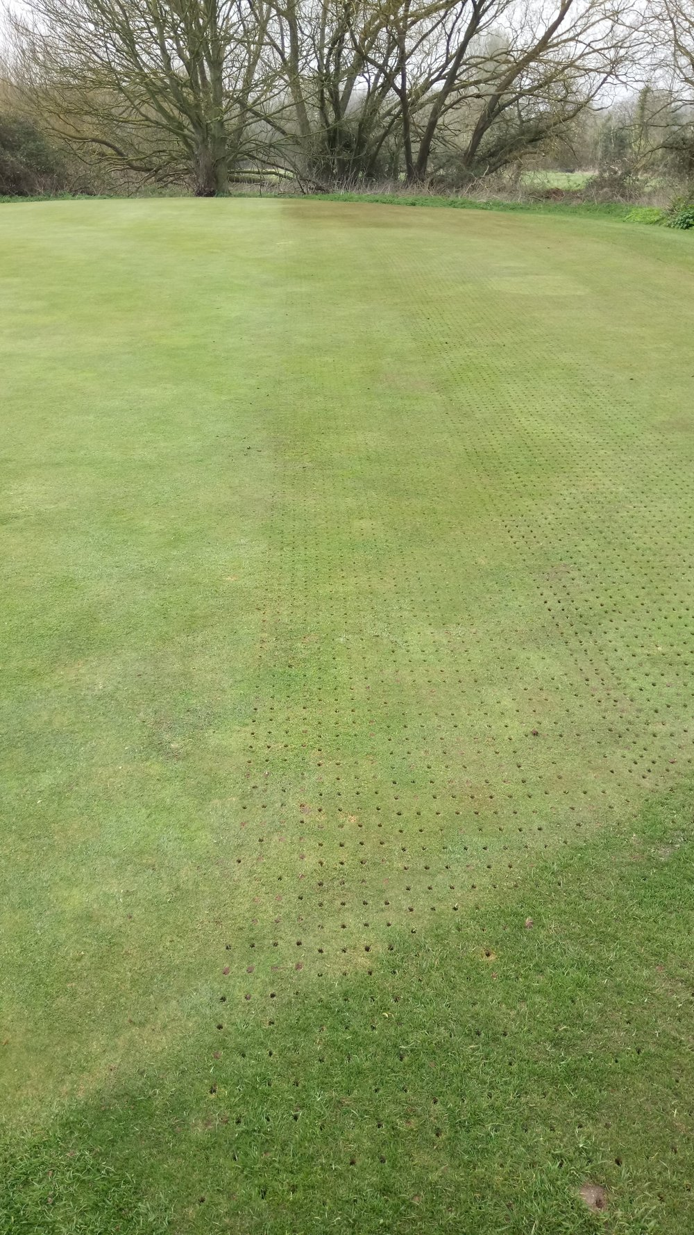 Hollow coring carried out on Monday 27th March