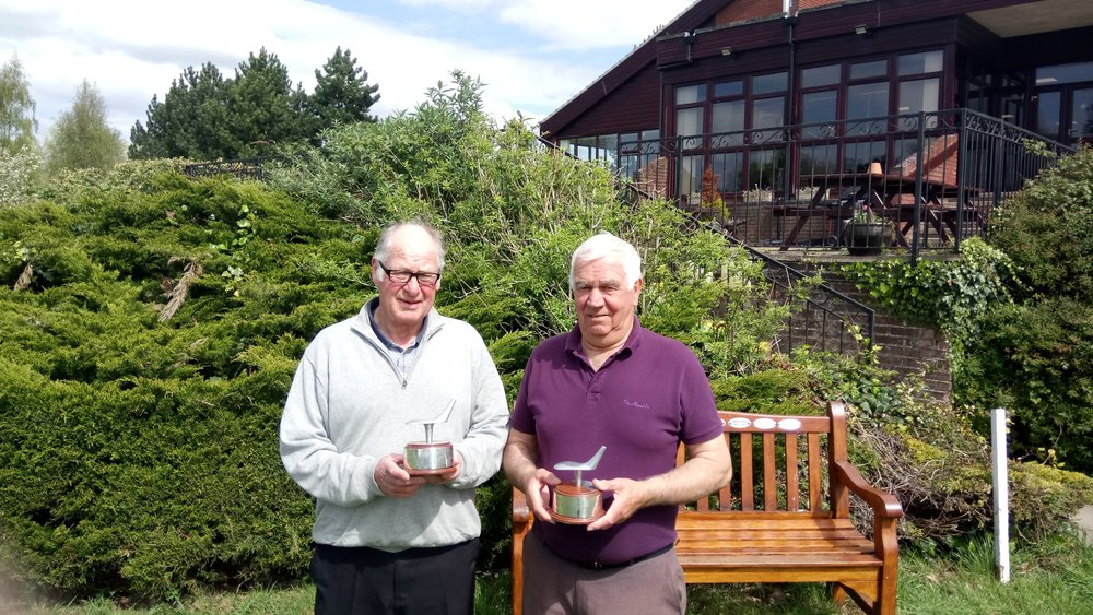 LAGS Benny Goodman Trophy Winners Geoff Edwards & Paul Harrison