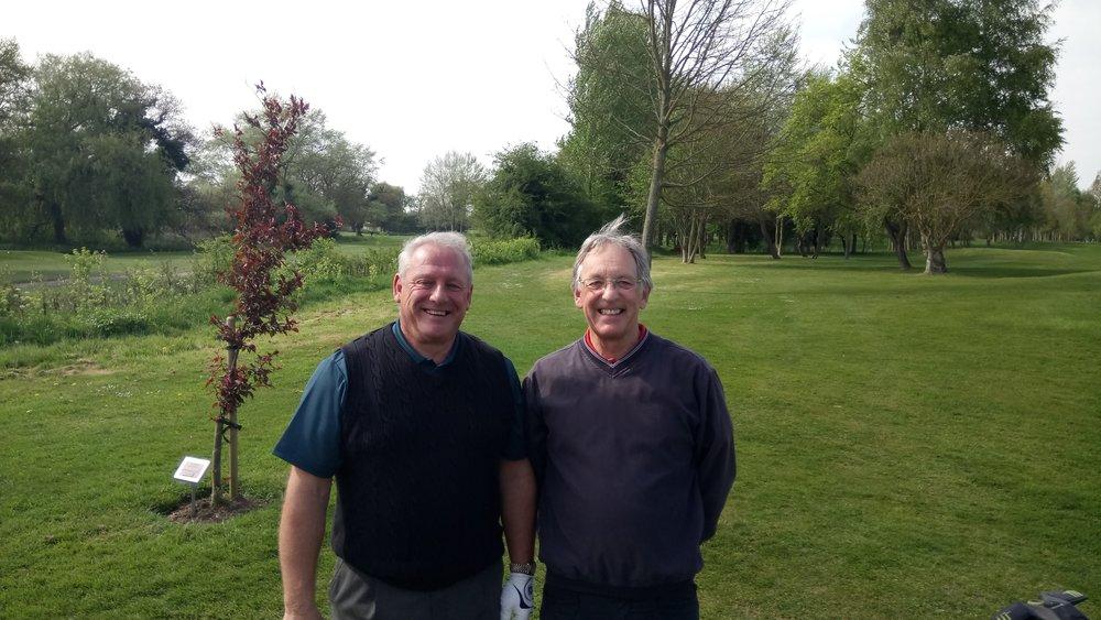 John Emerson Greensome Winners: Alan Weale & Mike Woods