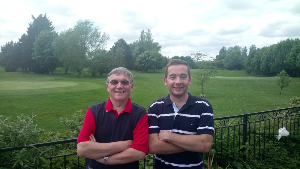 Fred Turrell Foursomes Winners 2017 Roger & Richard Boon