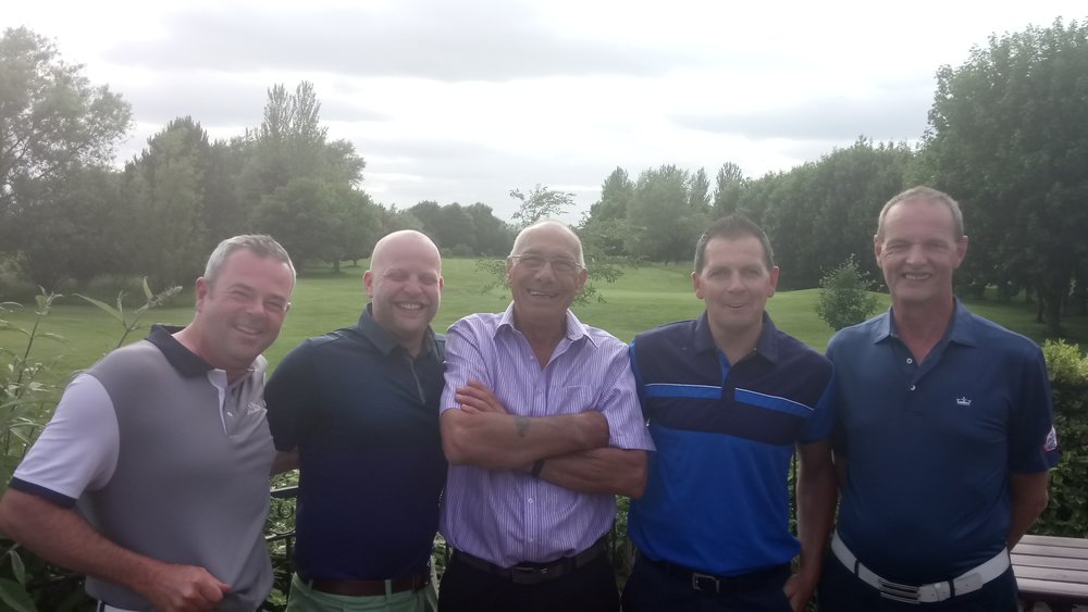 Left to Right: Gordon Maclean, Graeme Brown, Mick Varley (Vice-Captain), Paul Perry, & Martin Scott