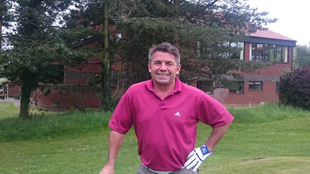 Mike Penney: Winner of the June Sunday Stableford