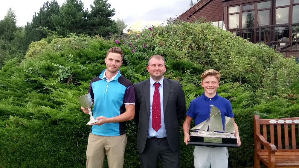 Left to Right: Jack Cardy, Stuart Punt (Club Captain), & Ben Newman
