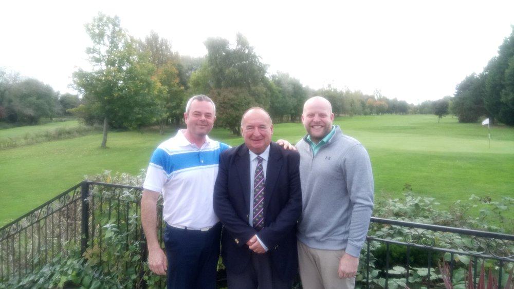 Left to Right: Gordon Maclean, Jim Chamberlin, & Graeme Brown