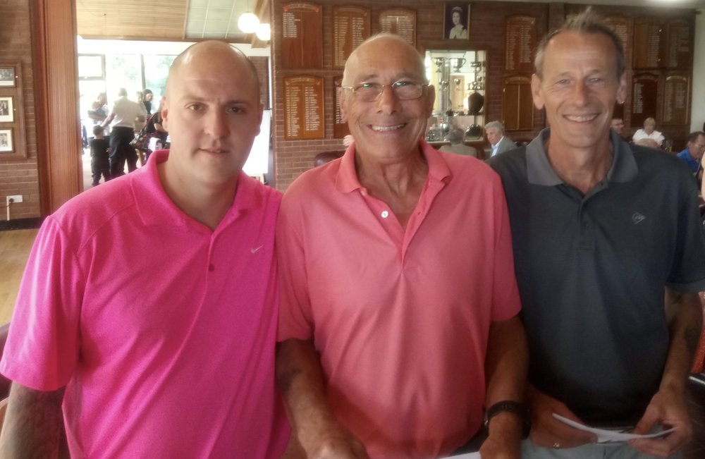 Left to Right: Dan Bolton, Mick Varley (Vice-Captain) & Andy Coleman
