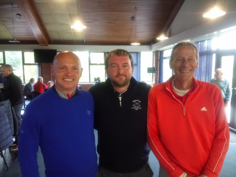 Left to Right: Matt Freeman, Stuart Punt (Club Captain), & Andy Coleman