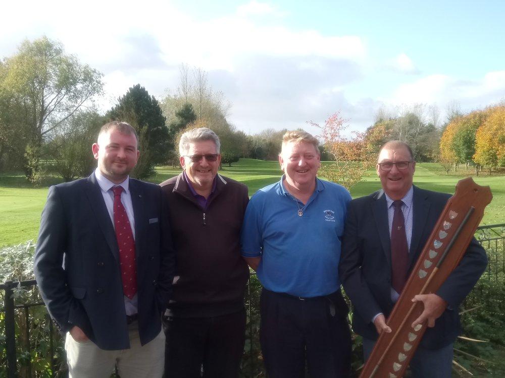 Left to Right: Stuart Punt, John Marjoram, Tony Atkinson, Pat Barton