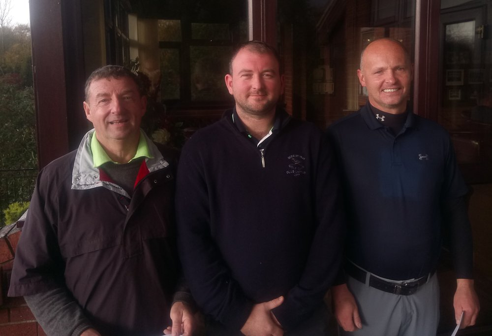 Left to Right: Dwayne Barber, Stuart Punt (Club Captain), and Matt Freeman