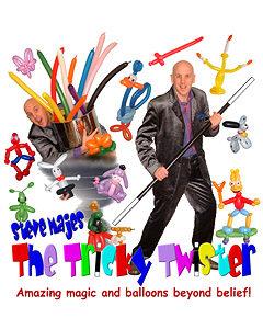 Steve Majes 'The Tricky Twister'