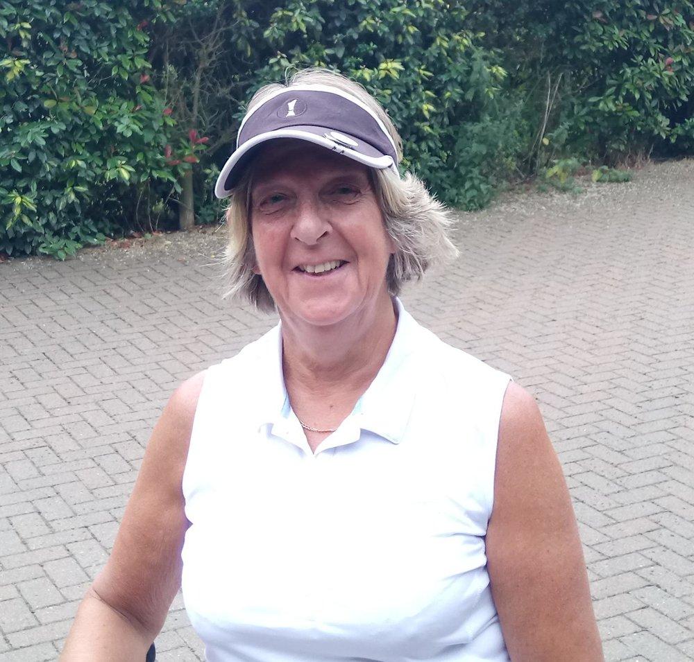 Kathy Holmes: WInner of Division 2 Ladies November Stableford