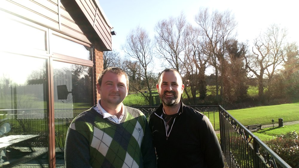 Stuart Punt (Left) & Ian Howlett (Right)
