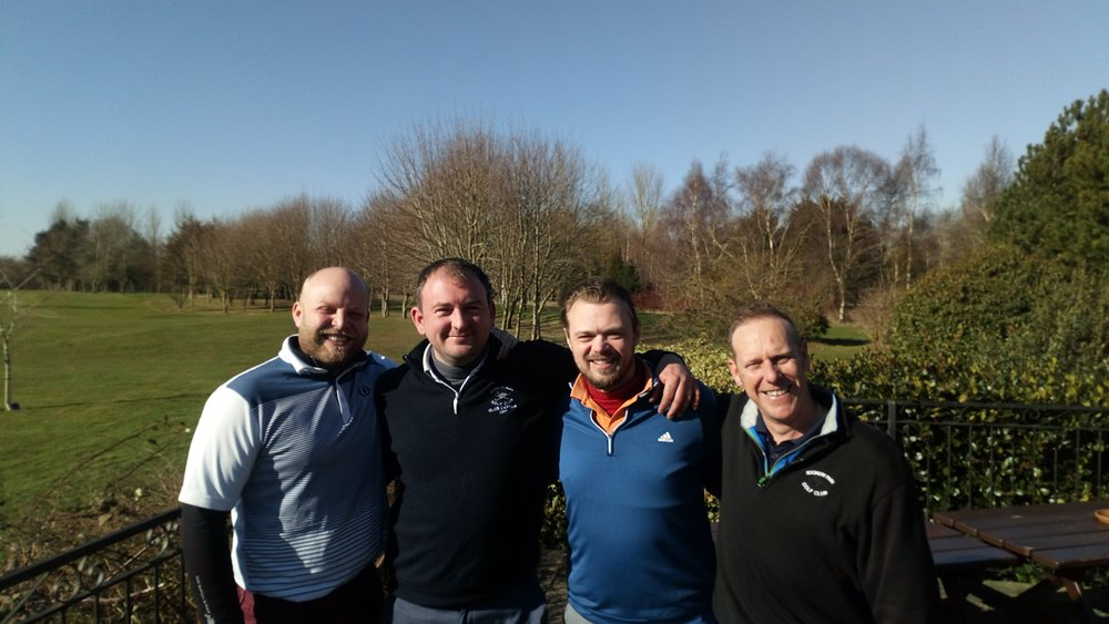 Left to Right: Graeme Brown, Stuart Punt, Scott Coleman, & Ian Mace