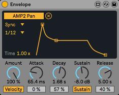 透過MIDI訊息來控制ADSR