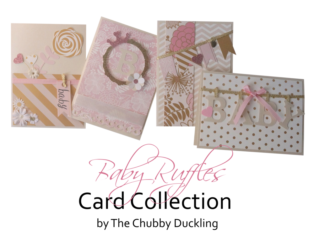 baby card collections by the chubby duckling