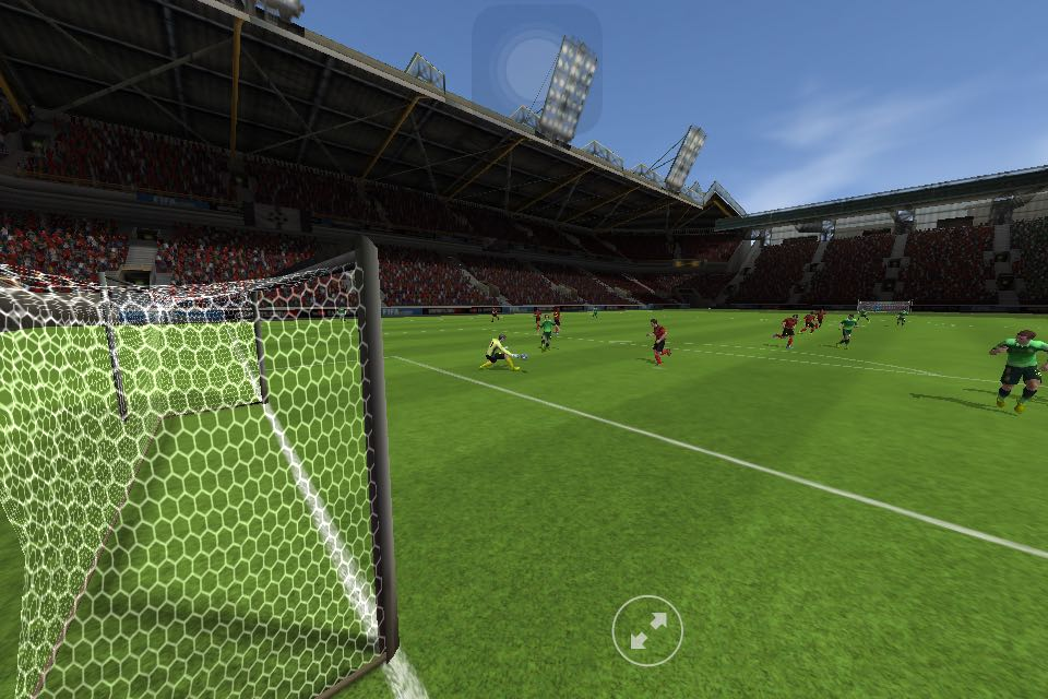in Fifa 15, you'd be able to review your goal and share it via Facebook