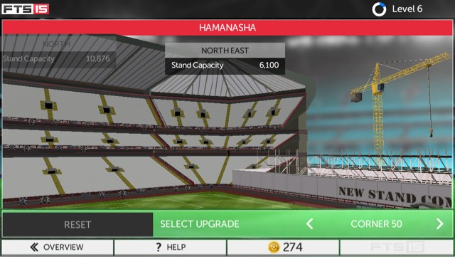 Enhanced stadium editor gives different experience each time you play