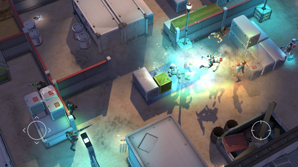 With 3d isometric view, you can check where your enemies heading as well as looking for a place to hide