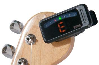 Guitar accessories: guitar tuner