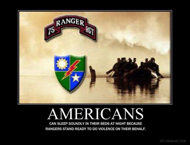 Rangers Lead The Way...nuff said