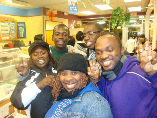 Some of my Andrews University friends, when I went to get my Masters degree
