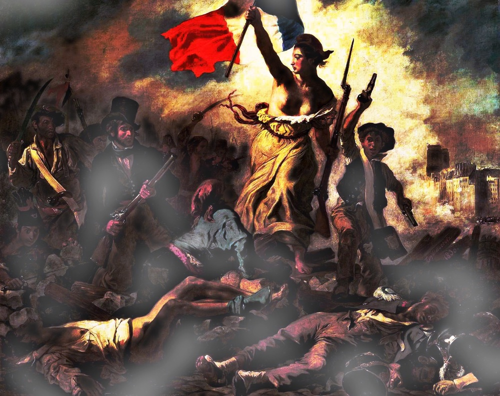The French Revolution, the overturning of kingship for republic governance. Many lives were lost.