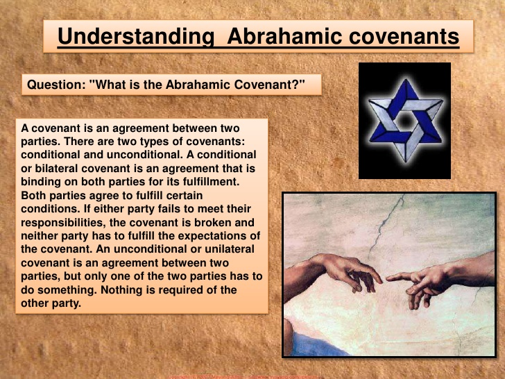 The Abrahamic covenant was a unilateral covenant.