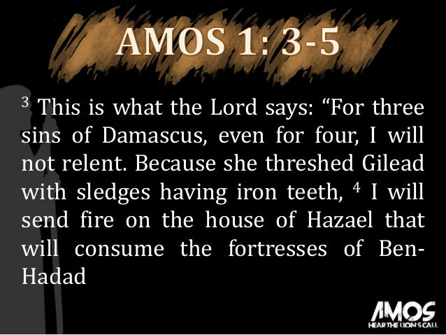 Amos 1-2 deal with God addressing different nations for their failure to fulfill requirements specific to them. Evidence that God had a relatioship with those outside of Hebrews.