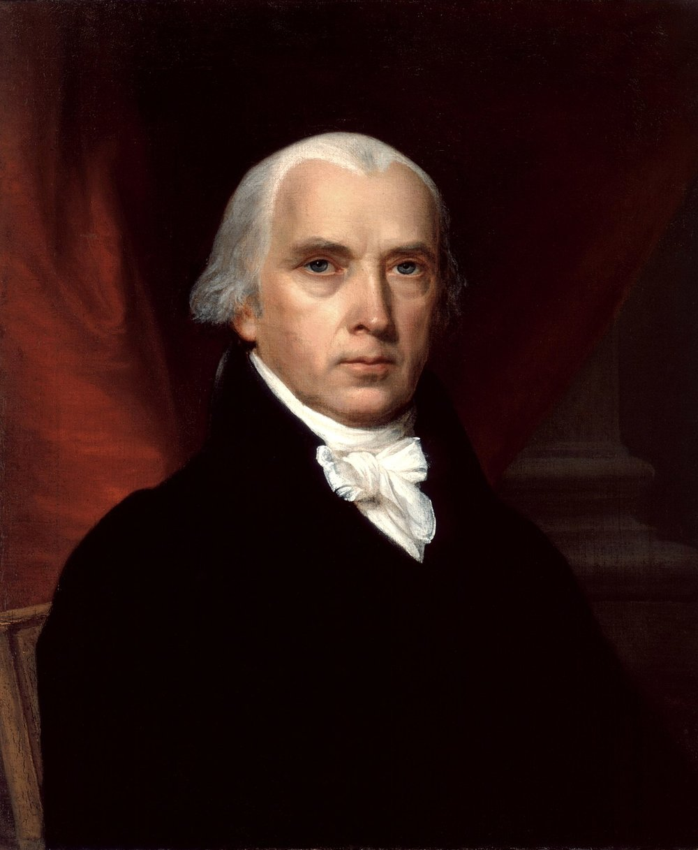 James Madison, formulation of the bill of rights