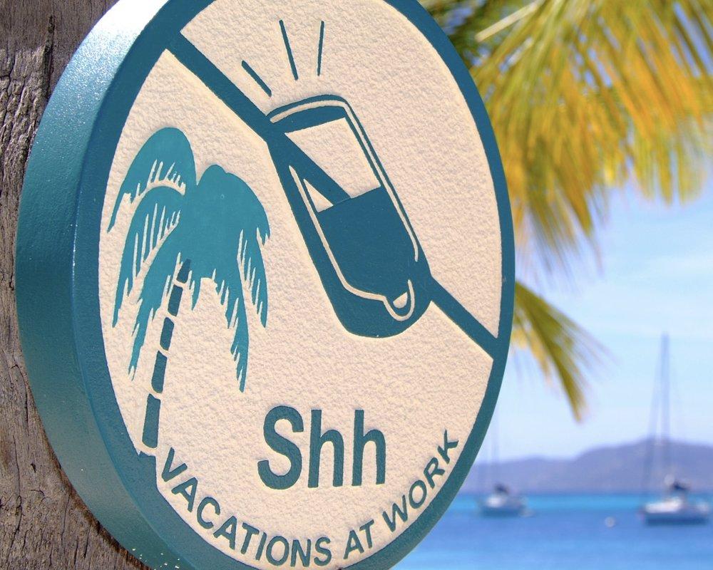 Slå av på Palm Island, Grenadines