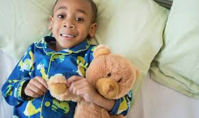 Web Bear 6 Little Black Boy in Pajamas.jpg
