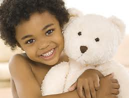 Web Bear 2 Beautiful Brown girl with bear.jpg