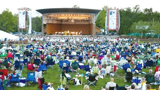 Talcott Mountain Music Festival at The Meadows on Ironhorse Boulevard, Simsbury