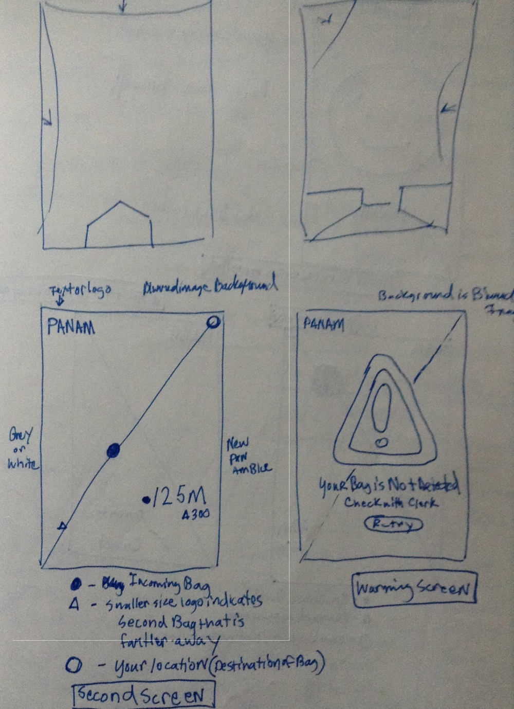 App Sketch Iteration 1