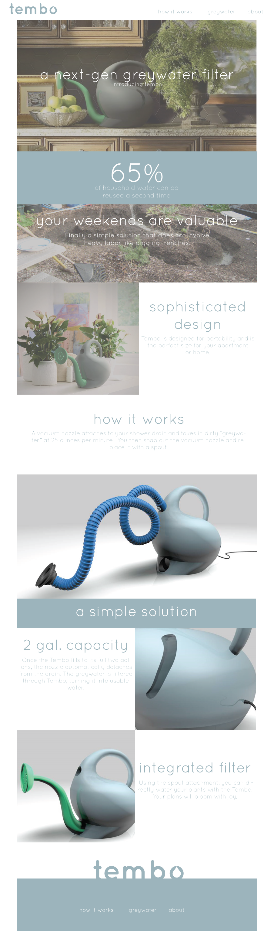 Alternate Web UX Design