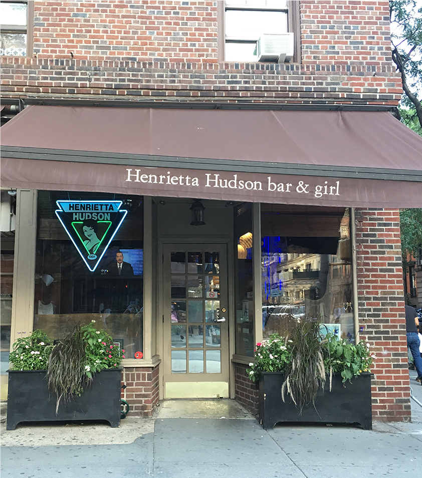 "HENRIETTA HUDSON 438 HUDSON STREET, NEW YORK, NY OPEN 1991-PRESENT (HENRIETTA HUDSON, PICTURED) ""As co-founder of Henrietta Hudson, Lisa Cannistraci - along with her business partner, Minnie Rivera - has served the LGBTQ community for more than 25 years. 'I opened Henrietta Hudson in 1991, at the time of ""lesbian chic"" and have seen the nightlife scene and the gay rights movement change throughout the decades,' Cannistraci observes. 'It has been a wild ride.' An integral part of the marriage equality movement, she served as the vice president of Marriage Equality USA when DOMA was struck down by the Supreme Court in 2013. She takes activism seriously, having supported numerous LGBTQ organizations for over three decades."" (Shannon Leigh O'Neil, Go Magazine, 2016)"