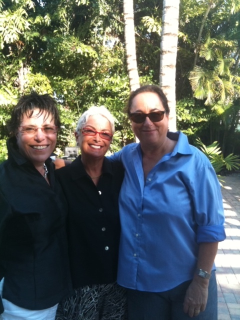 From right to left: Leslie, Michelle and Barbara in Florida several years ago. Image courtesy of Barbara Russo.