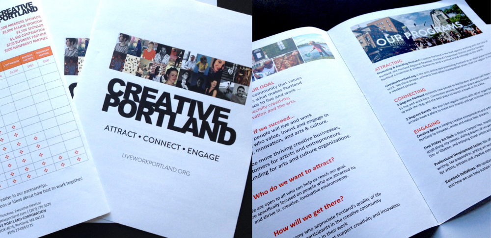 CREATIVE PORTLAND SPONSORSHIP PACKET