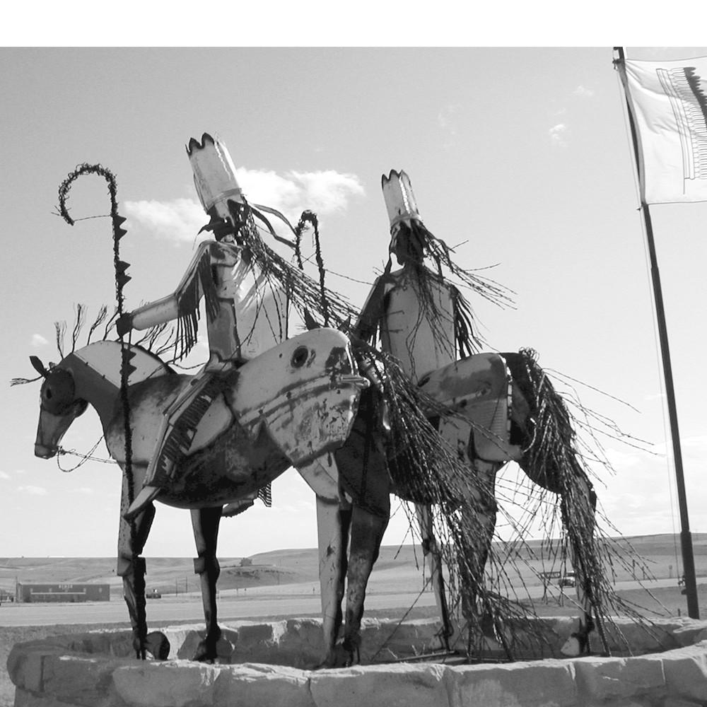Entrance to Blackfeet Nation, Browning, Montana