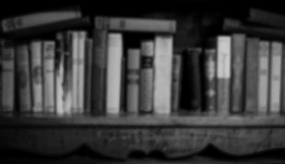 books b&w
