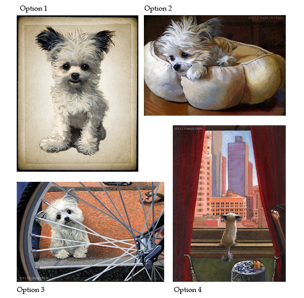 Giclee print options are above. In shopping cart comment section indicate which option you would like to order.